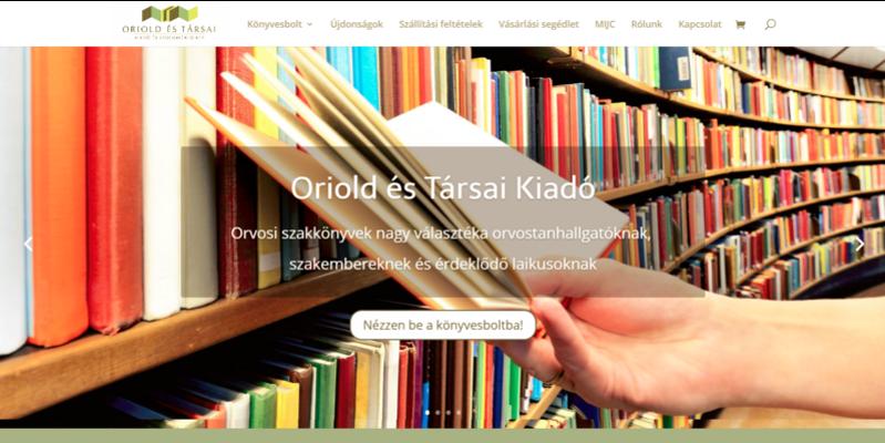 Orioldbooks.com weboldal